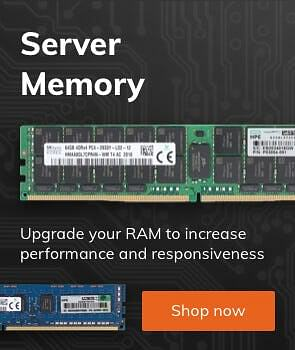Server Memory - Upgrade your RAM to increase performance and responsiveness